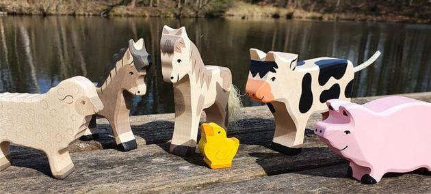 Dřevěné hračky Holztiger