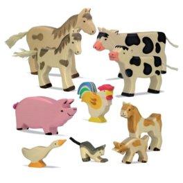 Vesnická zvířátka a stavení