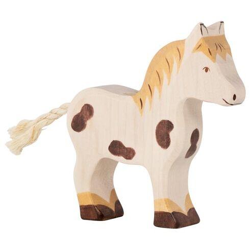 Strakatý poník – zvířátko zedřeva - Holztiger