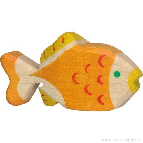 Zlatá rybka zedřeva - Holztiger