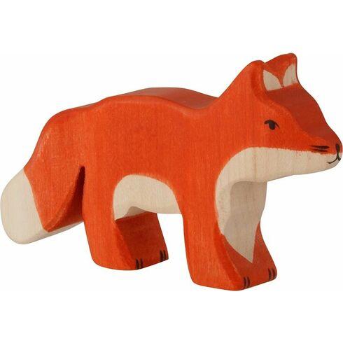 Malé červené lišče – dřevěné zvířátko zlesa - Holztiger