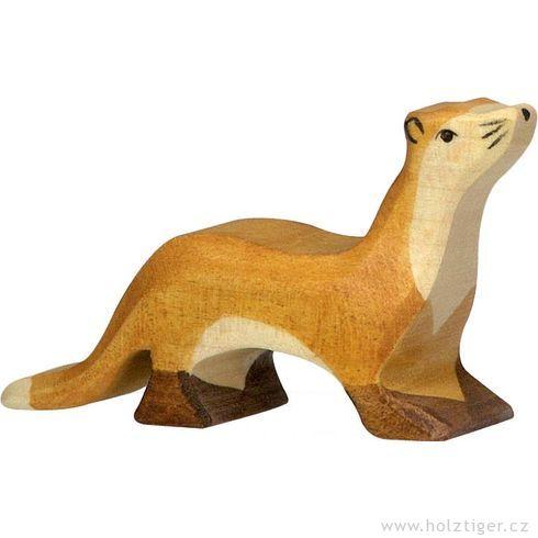 Kuna – vyřezávané dřevěné zvířátko - Holztiger