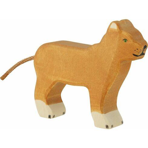 Lvice – dřevěné zvíře - Holztiger