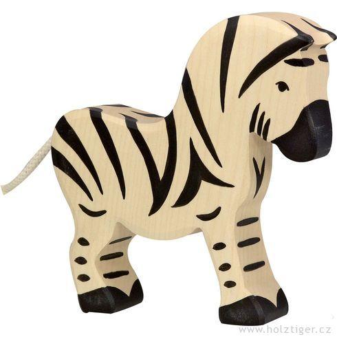 Zebra – zvíře zedřeva - Holztiger
