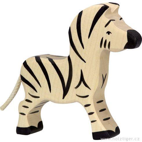 Malá zebra – zvíře zedřeva - Holztiger