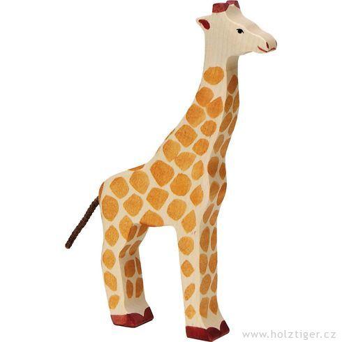 Žirafa – zvíře zedřeva - Holztiger