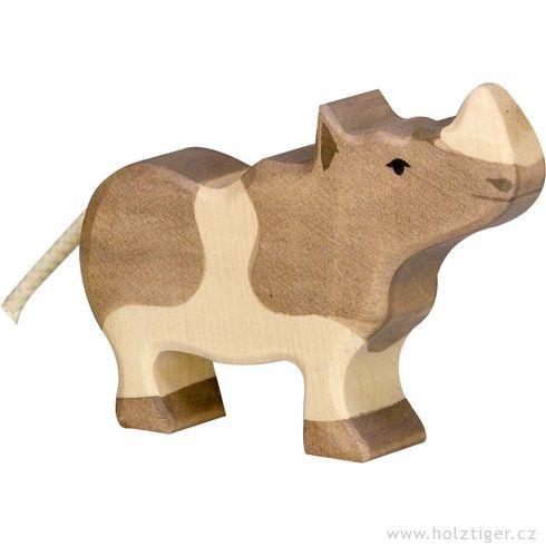 Mládě nosorožce – zvíře zedřeva - Holztiger