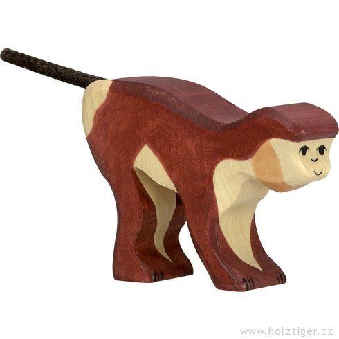 Opice – dřevěná hračka - Holztiger