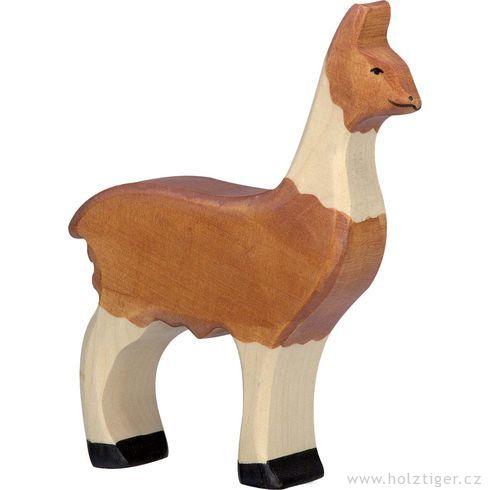 Lama – dřevěné zvíře - Holztiger