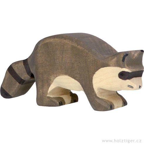 Mýval – vyřezávané zvíře zedřeva - Holztiger