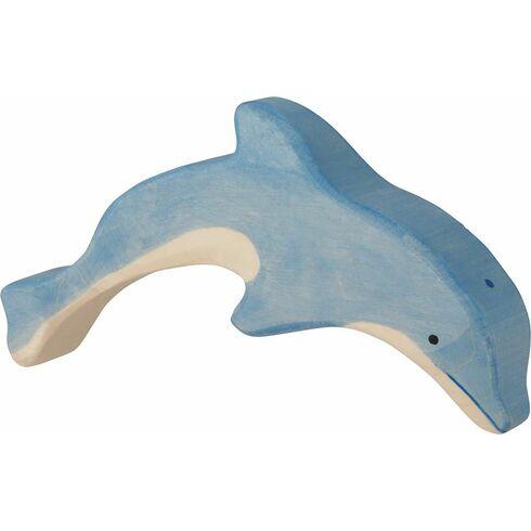 Skákající delfín – vyřezávané zvířátko zedřeva - Holztiger