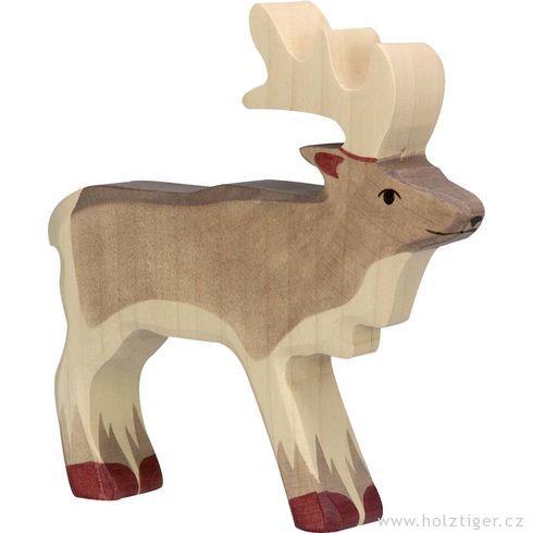 Sob– dřevěné zvířátko - Holztiger