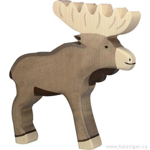 Los– dřevěné zvířátko - Holztiger