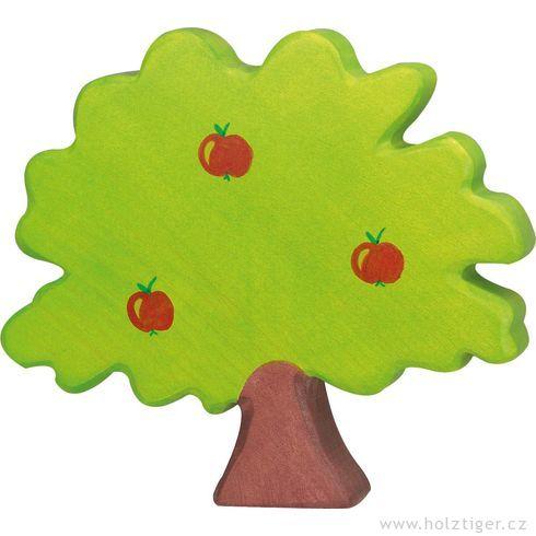 Jabloň – dřevěná dekorace - Holztiger