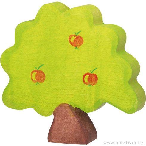 Jabloň malá – dřevěná dekorace - Holztiger