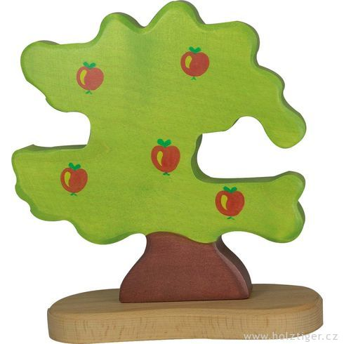 Jabloň proptáčky – dřevěná dekorace - Holztiger
