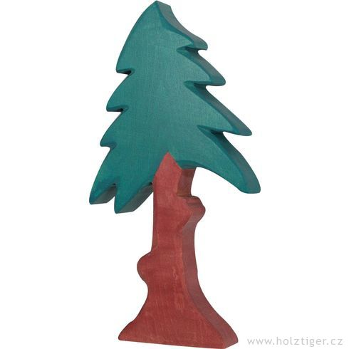 Jehličnan vysoký skorunou – dřevěná dekorace - Holztiger