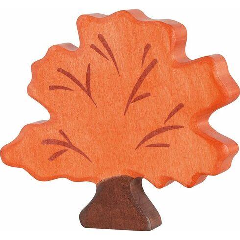 Strom podzimní – dřevěná dekorace - Holztiger
