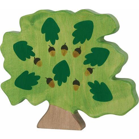 Dub– dřevěná dekorace - Holztiger
