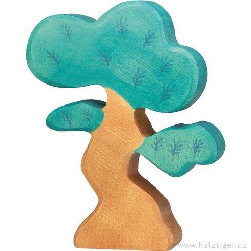 Borovice malá – dřevěná dekorace - Holztiger