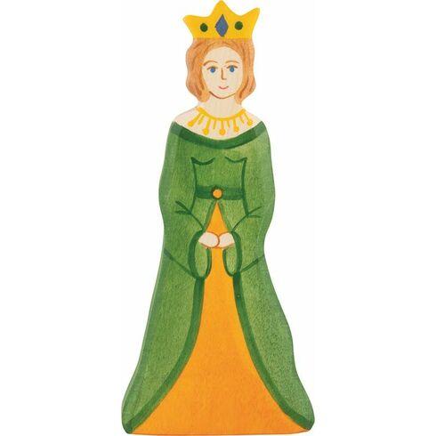 Královna – dřevěná vyřezávaná figurka - Holztiger
