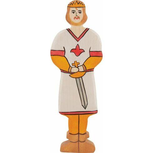 Princ – dřevěná vyřezávaná figurka - Holztiger