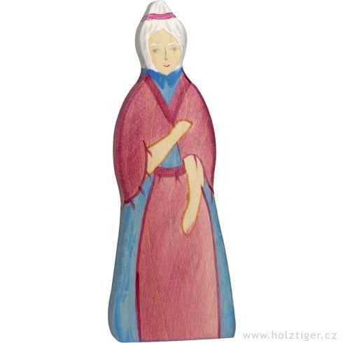 Babička – postavička zedřeva - Holztiger