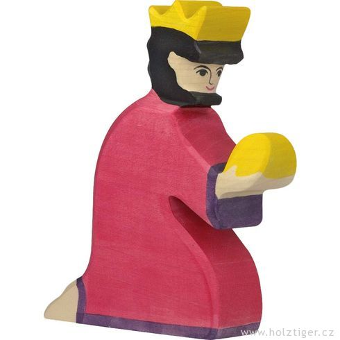 Baltazar (série I)– biblická dřevěná postava - Holztiger
