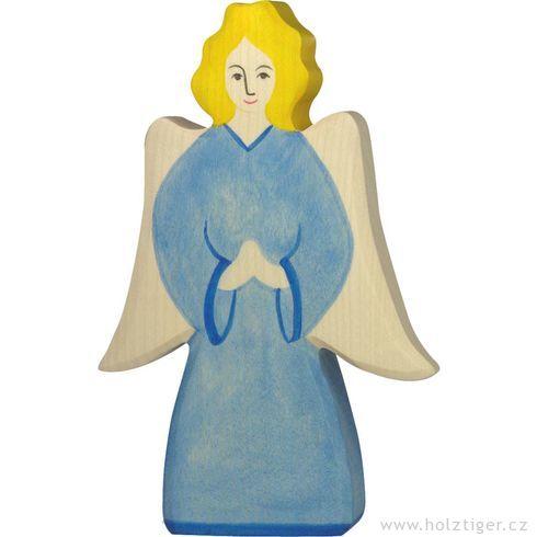 Archanděl (série I)– biblická dřevěná postava - Holztiger