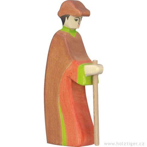 Pastýř sholí (série III) – dřevěná postavička dobetlému - Holztiger