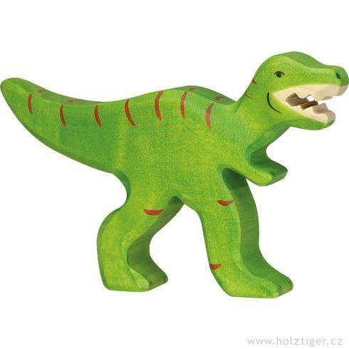 Tyrannosaurus Rex– dřevěná vyřezávaná hračka - Holztiger