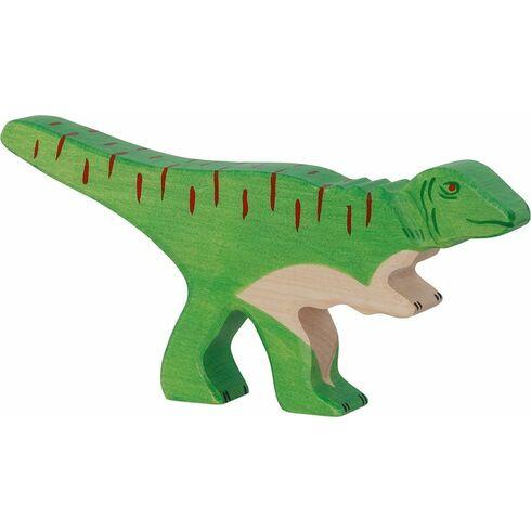 Allosaurus – dřevěná vyřezávaná hračka - Holztiger