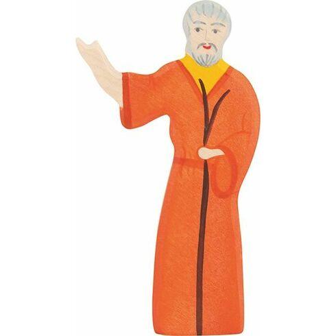 Noe– ručně malovaná figurka zedřeva - Holztiger