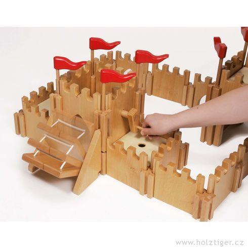 Rytířský hrad zedřeva - Holztiger