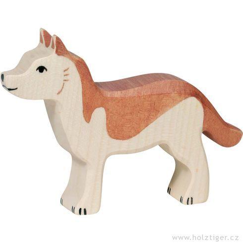 Vlčák – zvířátka zedřeva - Holztiger
