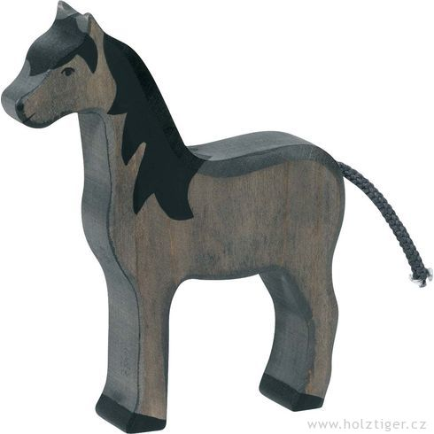 Černý koník – zvířátko zedřeva - Holztiger