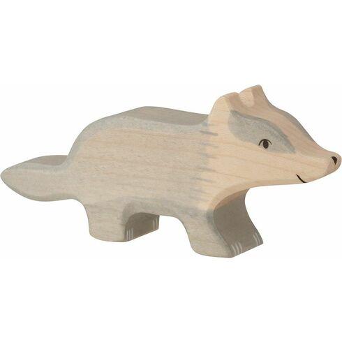 Jezevec – dřevěné zvířátko - Holztiger