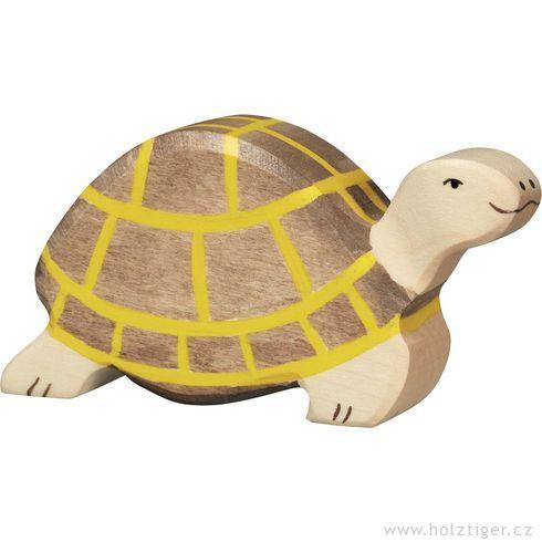 Šedá želva – zvířátko zedřeva - Holztiger