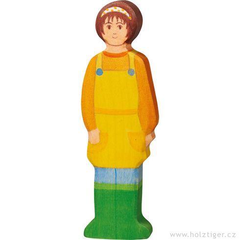 Selka – dřevěná figurka - Holztiger