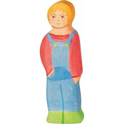 Syn– dřevěná postavička - Holztiger