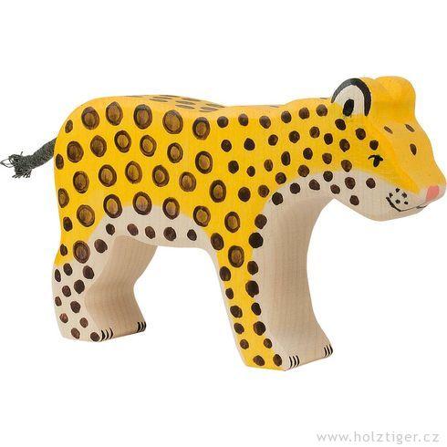 Gepard – dřevěné zvířátko - Holztiger