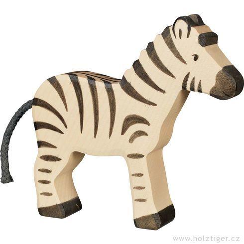 Zebra – dřevěné zvířátko - Holztiger