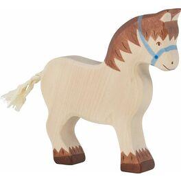Tažný kůň – zvířátko zedřeva