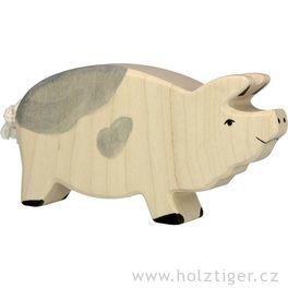 Čuník strakatý – dřevěné zvíře