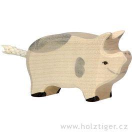 Selátko strakaté  – dřevěné zvířátko