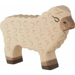 Ovečka stojící – zvířátko zedřeva