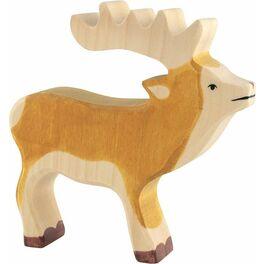 Jelen – lesní zvíře zedřeva