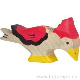 Datel – pták vyřezaný zedřeva