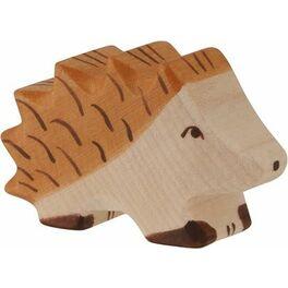 Ježek malý – lesní dřevěné zvířátko