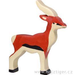 Antilopa – zvíře zedřeva